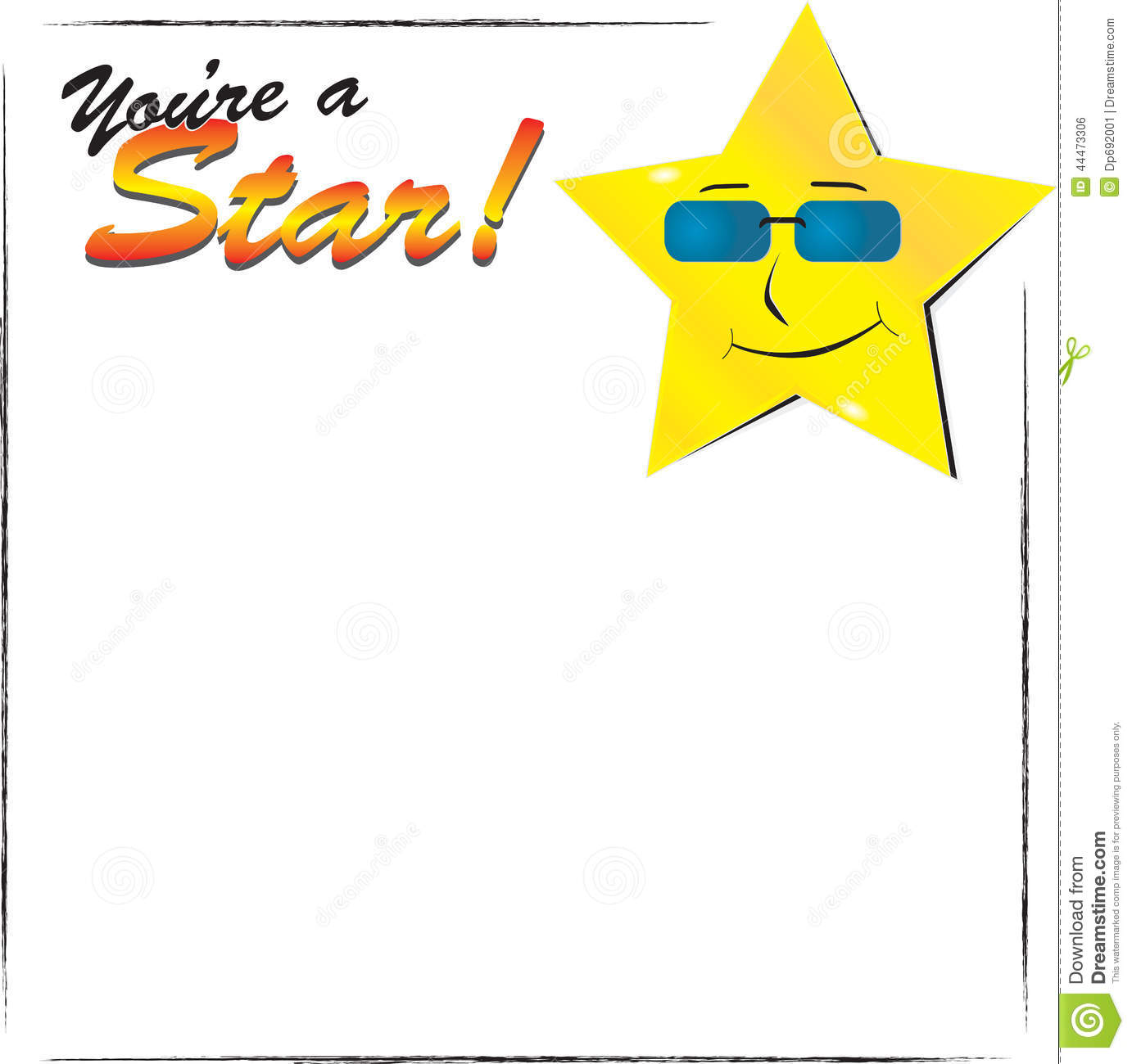 You're A Star Stock Vector - Image: 44473306