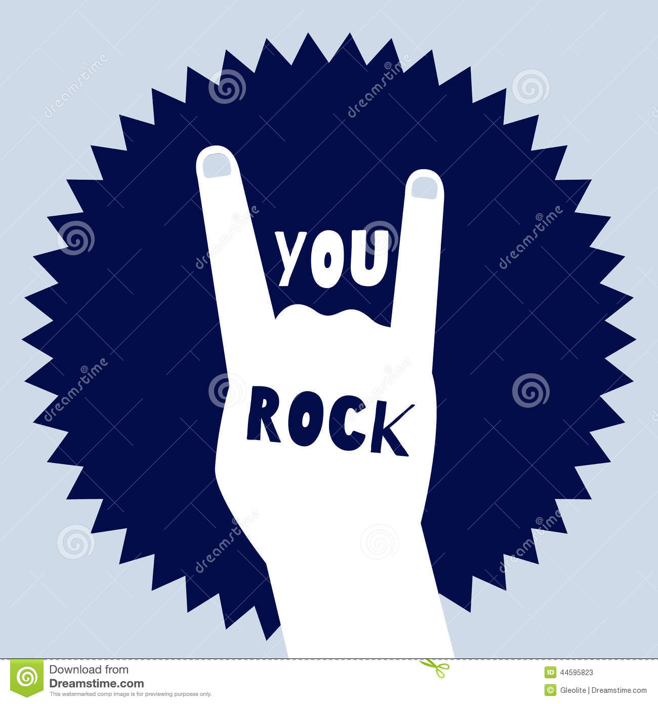 You Rock Poster ...You Rock Clipart