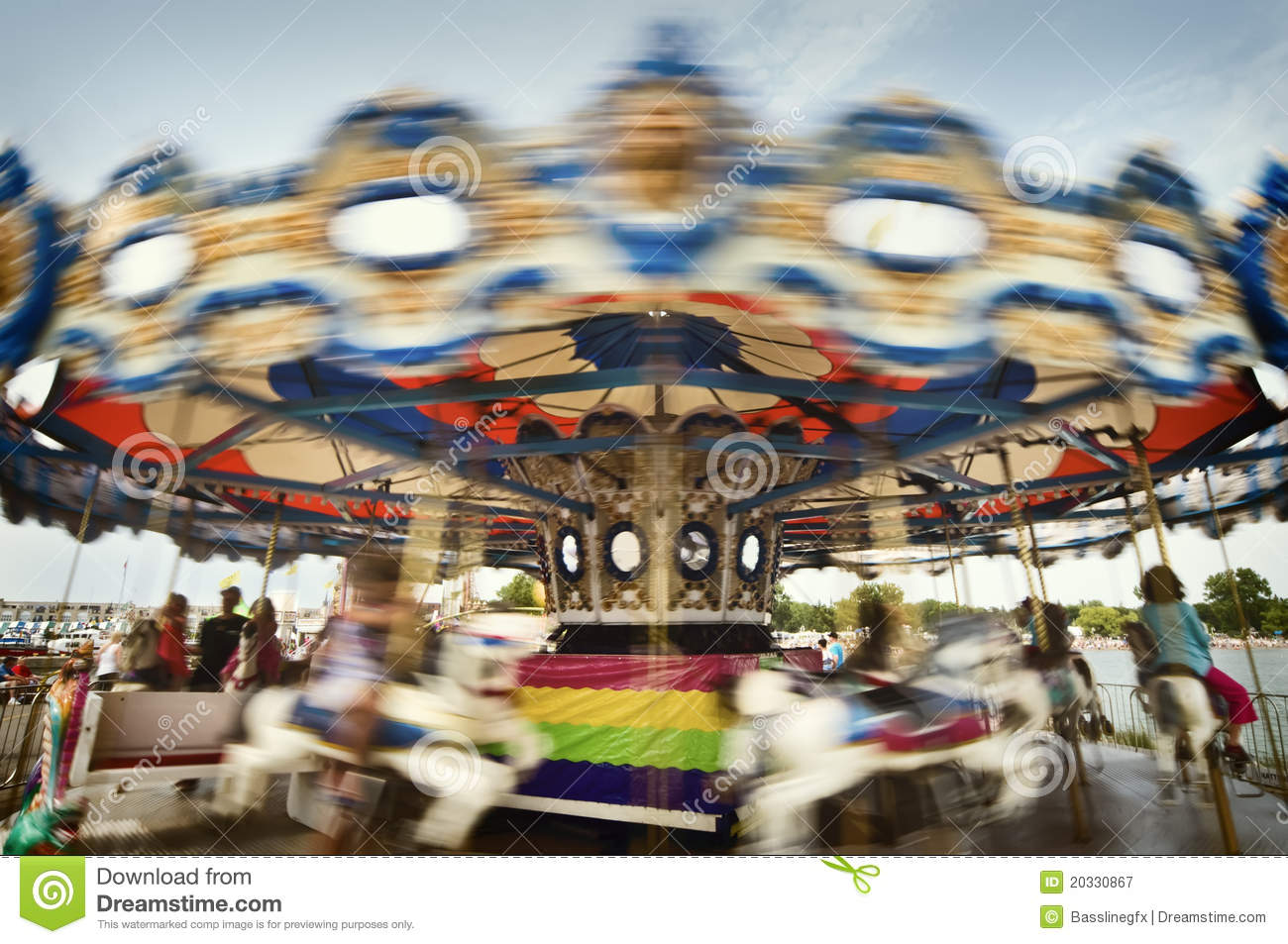 you spin me merry go round right round royalty free stock