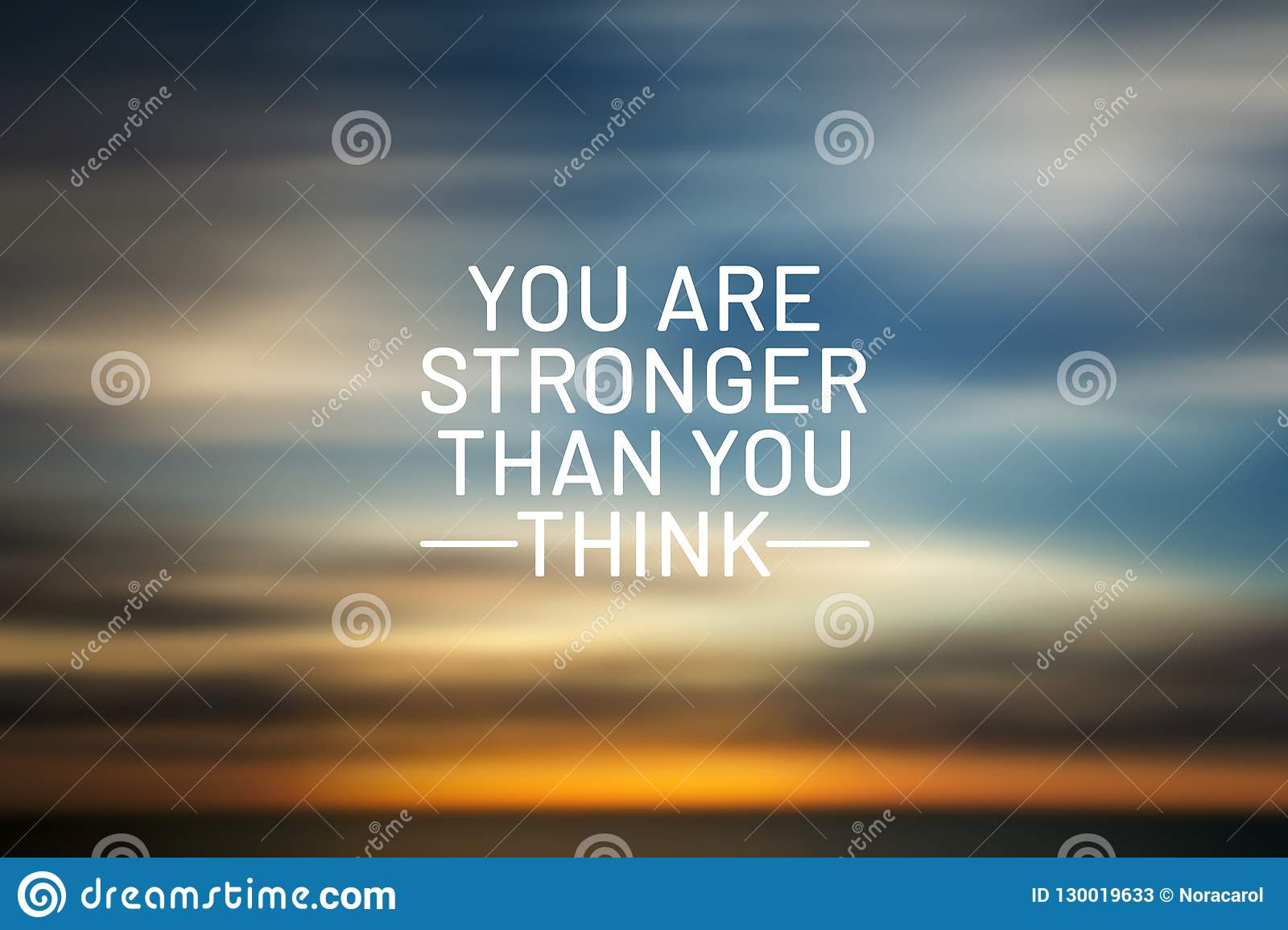 You Are Stronger That You Think Stock Image Image Of Learning