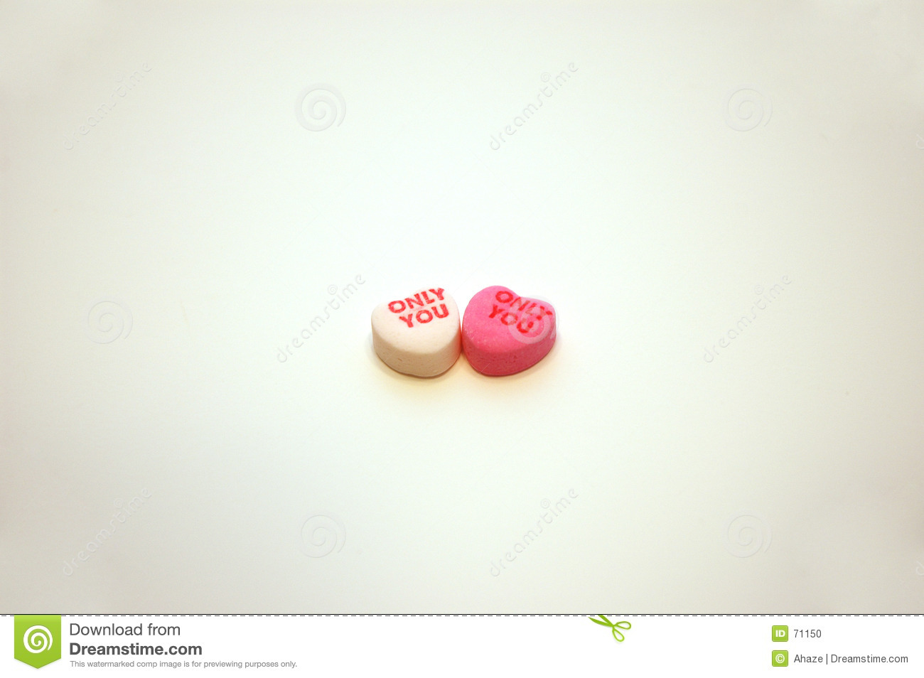 Only You Valentine's Day Conversation Hearts