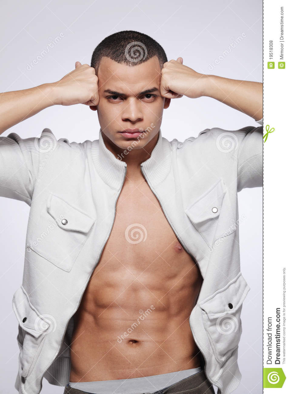 ... Male Fashion Model. Royalty Free Stock Photos - Image: 19518308