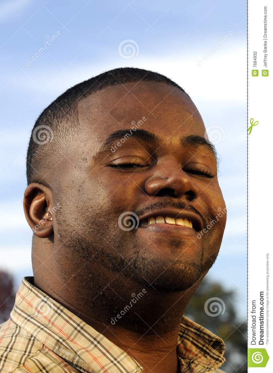 Young African American Man Stock Photography - Image: 7684932
