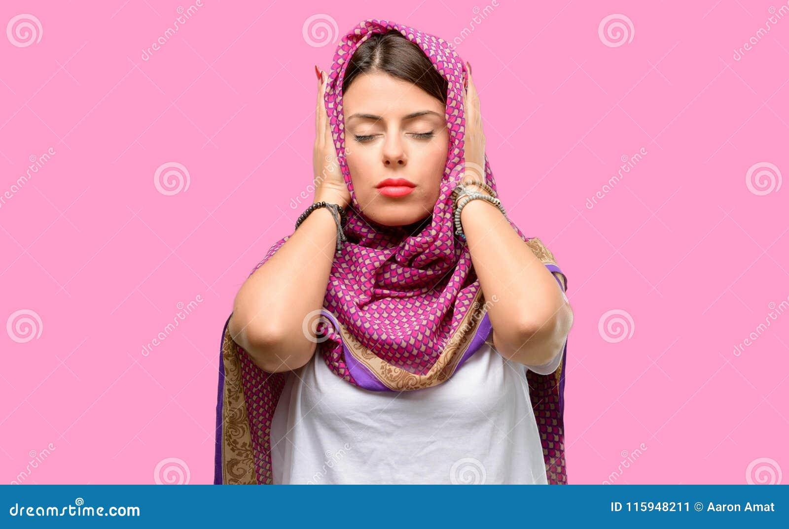 Young arab woman