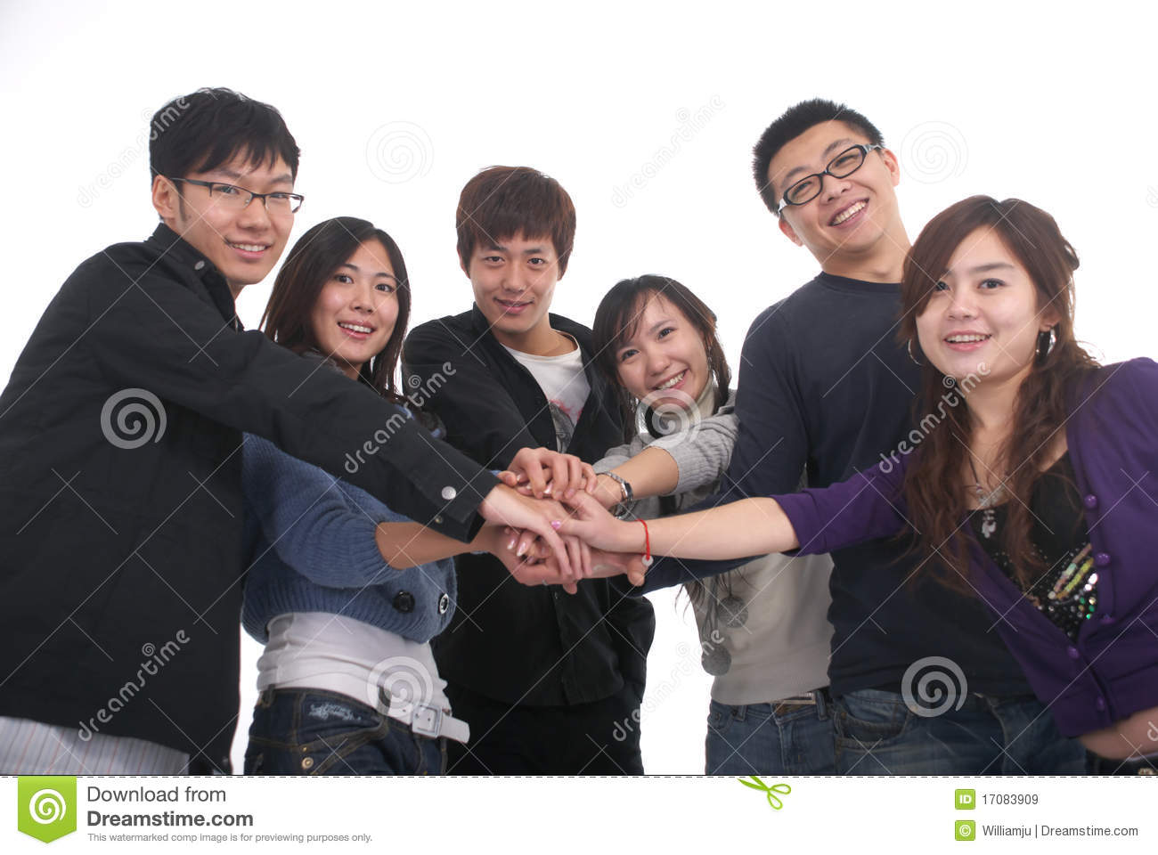 asian group picture