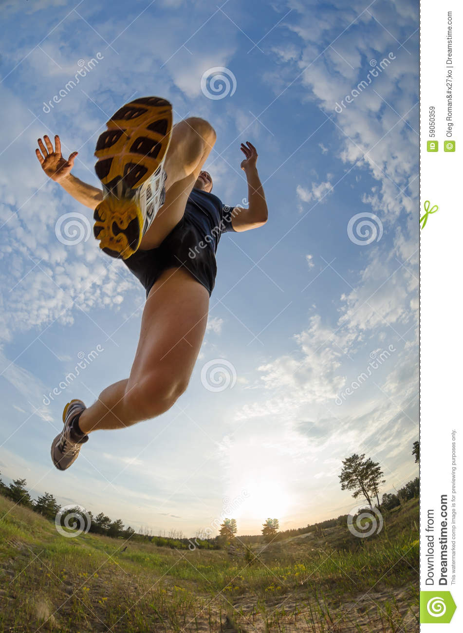 young athlete jumps while running stock photo image running horses clip art pictures running horse clip art gif
