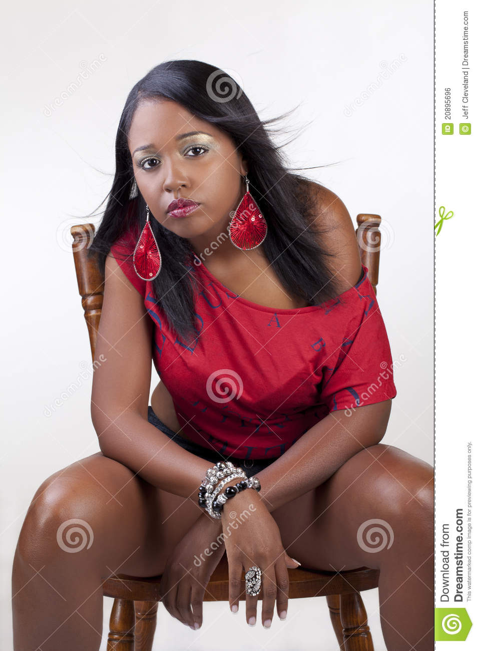 More similar stock images of ` Young attractive confident black woman ...
