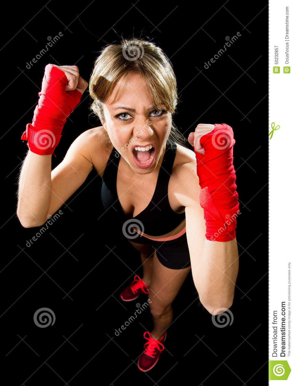 Female boxer gets mad and spank the reporters 2