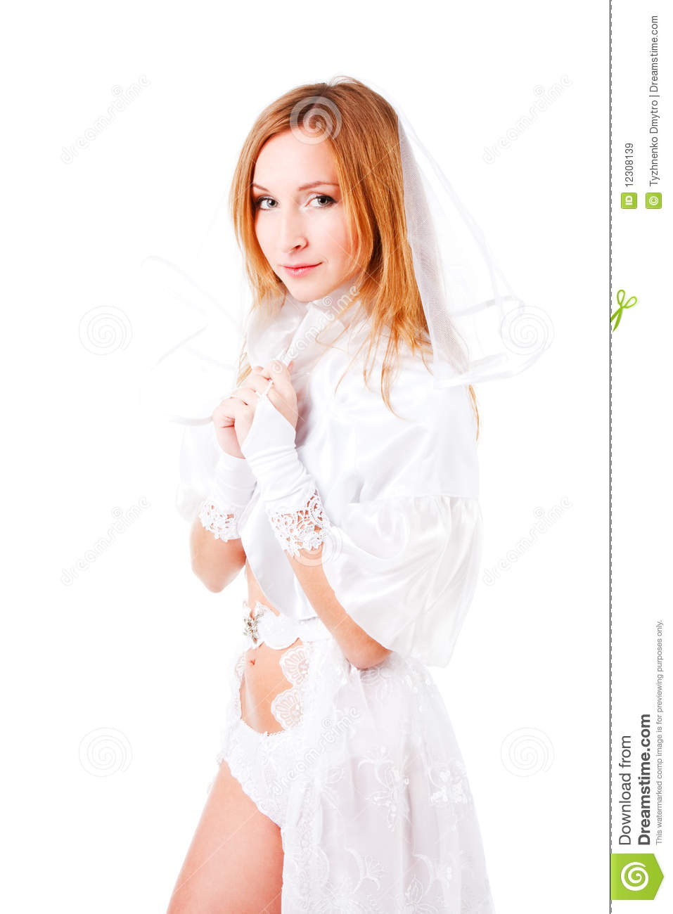 Young Girls In Wedding Dresses 14