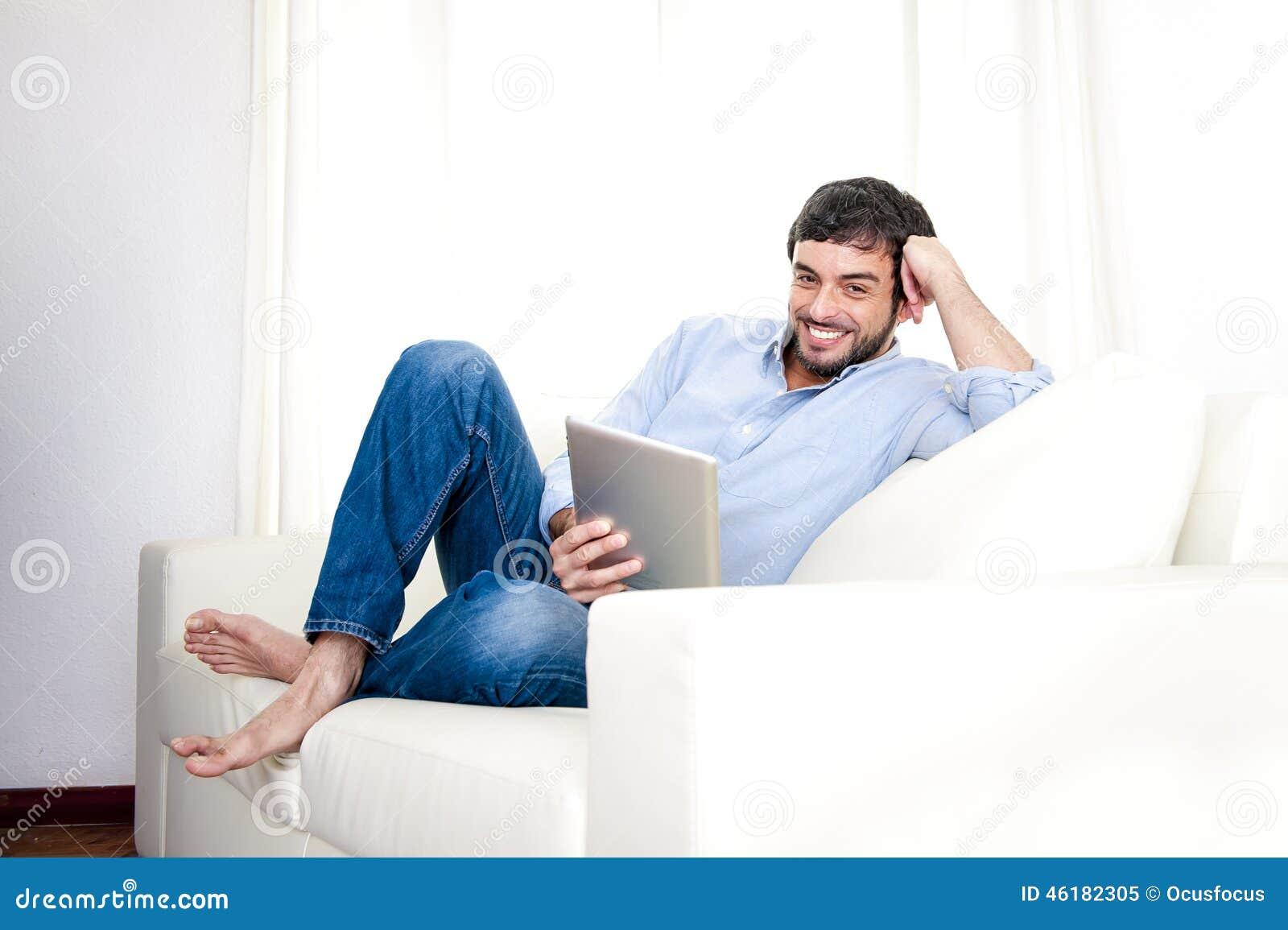 Man Using Digital Tablet Royalty-Free Stock Photography ...