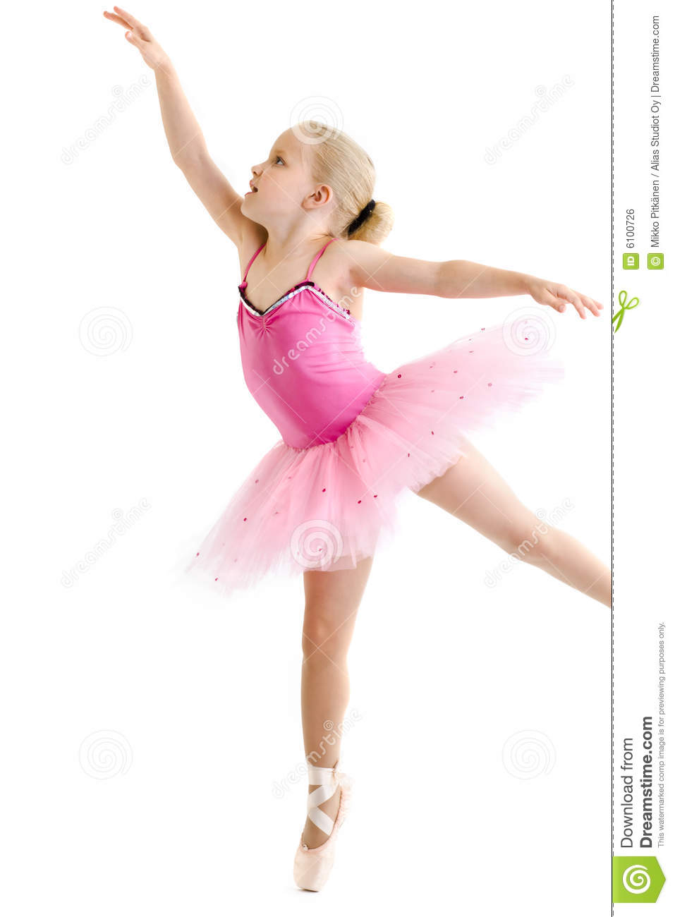 Young Ballerina Royalty Free Stock Image - Image: 6100726