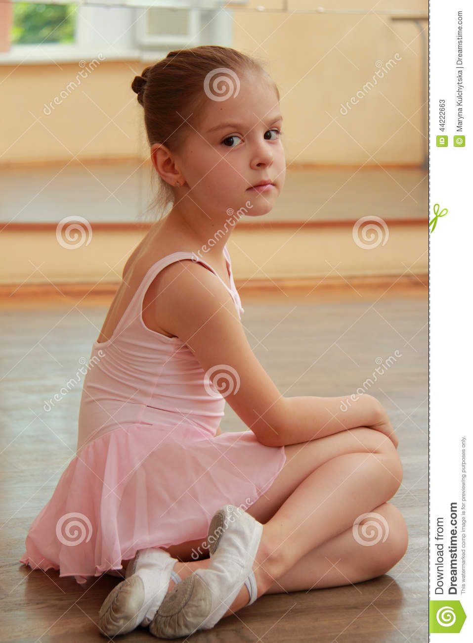Young ballerina stock image. Image of happiness, females ...