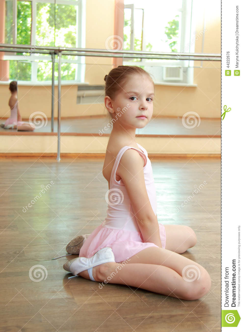 Young Ballerina Stock Photo Image Of Background Little