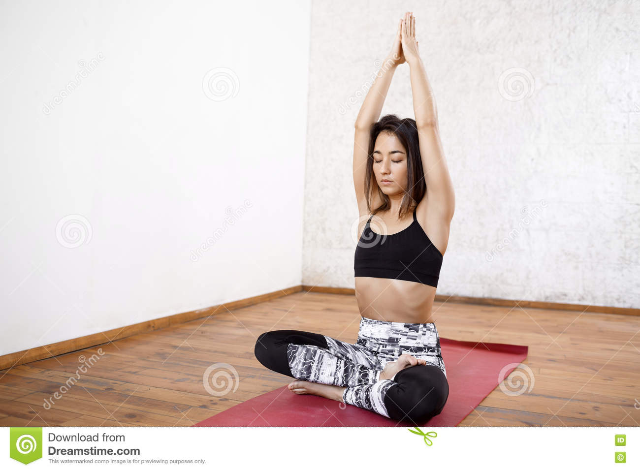 What young girl nude yoga flexible are