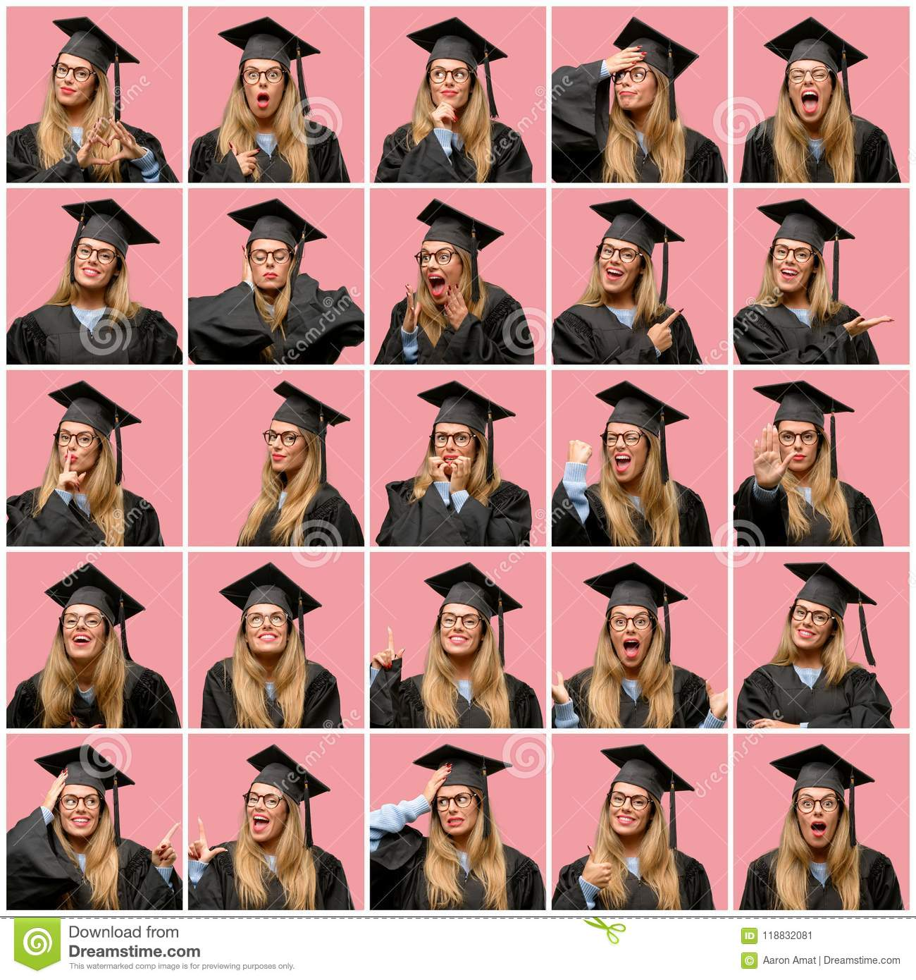 Happy Graduate With Certificate Royalty-Free Stock Image