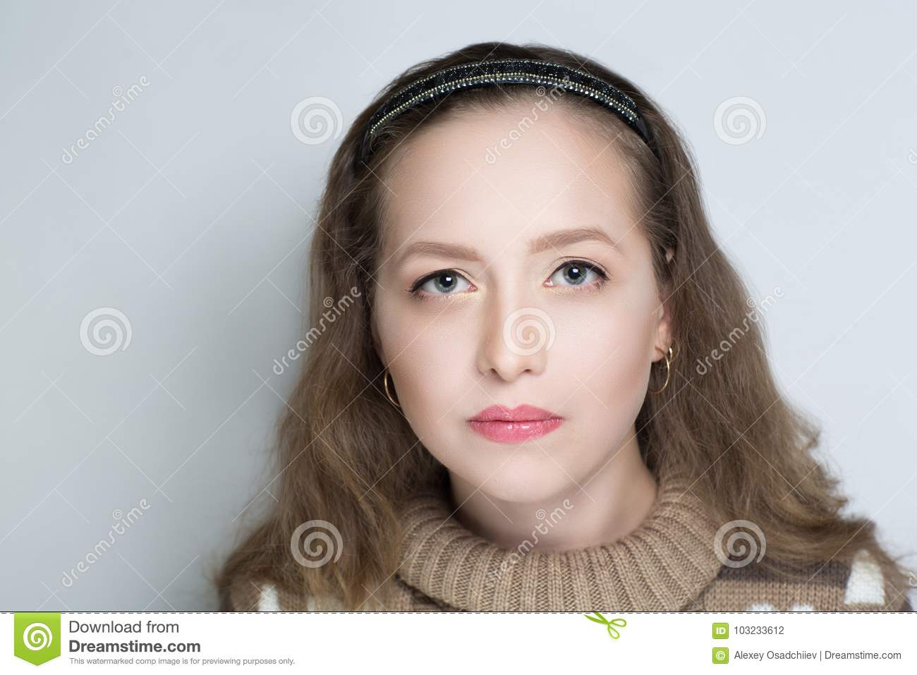 Ugly face woman stock photo. Image of open, lonely, lips