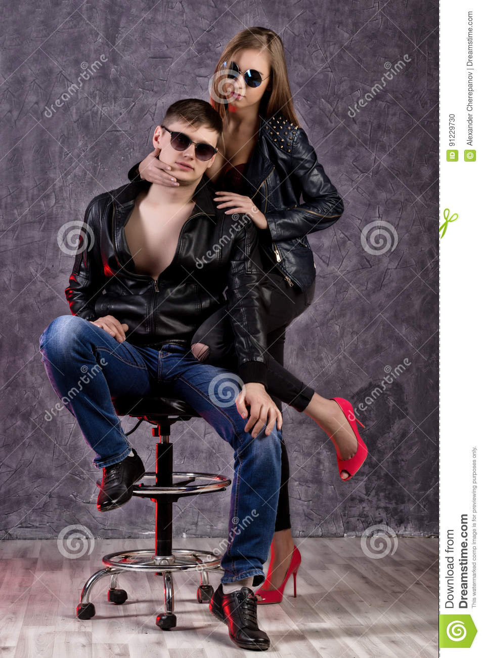 Leather girl dating