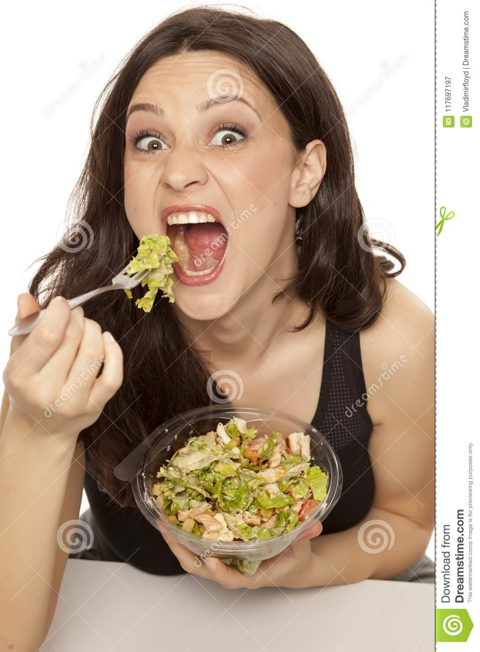 Healthy Food Stock Image Image Of Caucasian Person 117697197