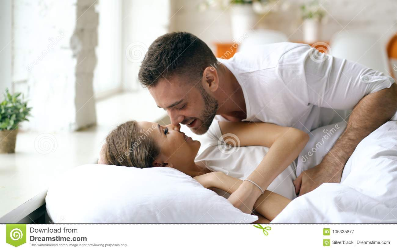 3 349 Couple Morning Kiss Photos Free Royalty Free Stock Photos From Dreamstime