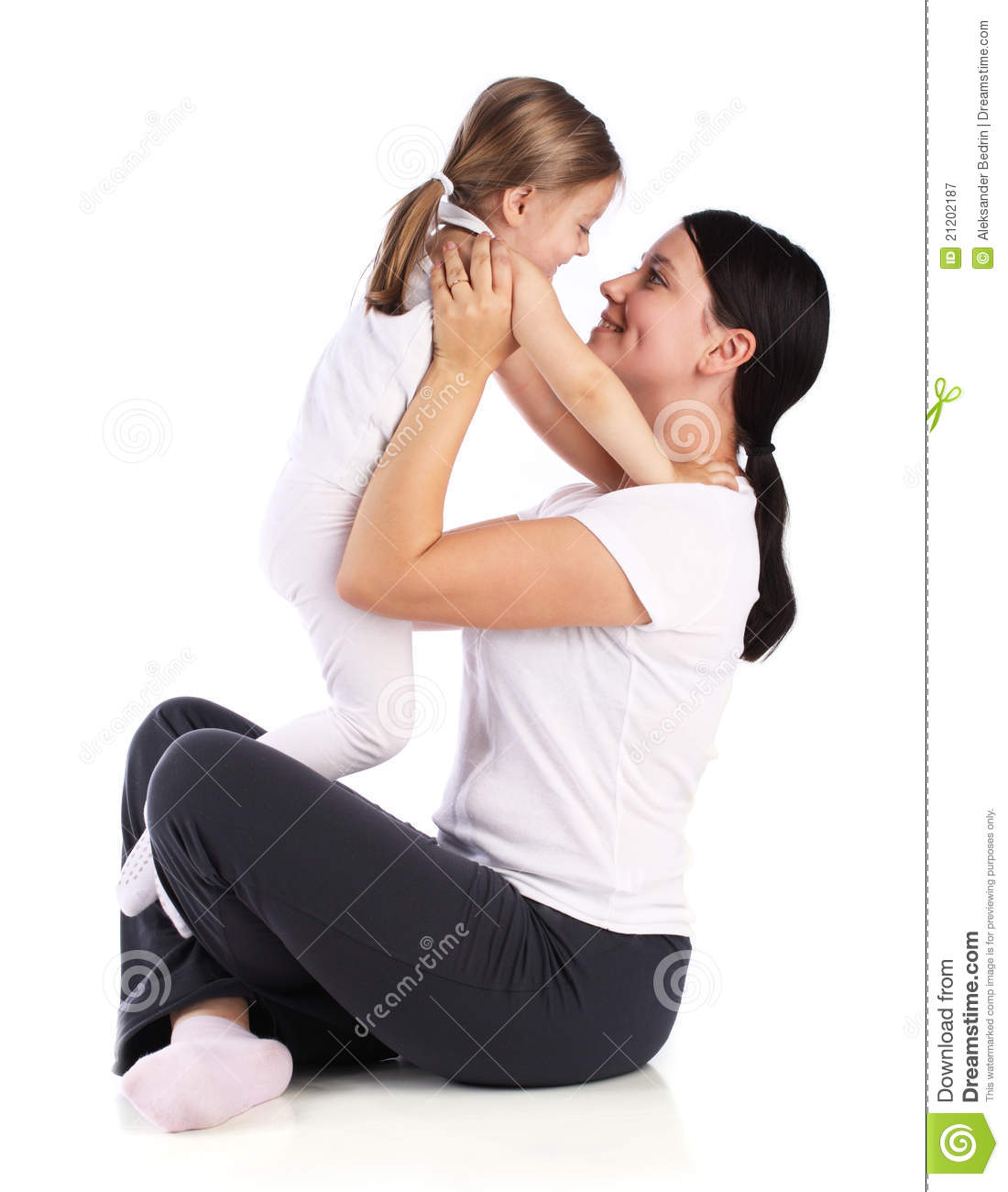 Beautiful mother with small boy gay 10