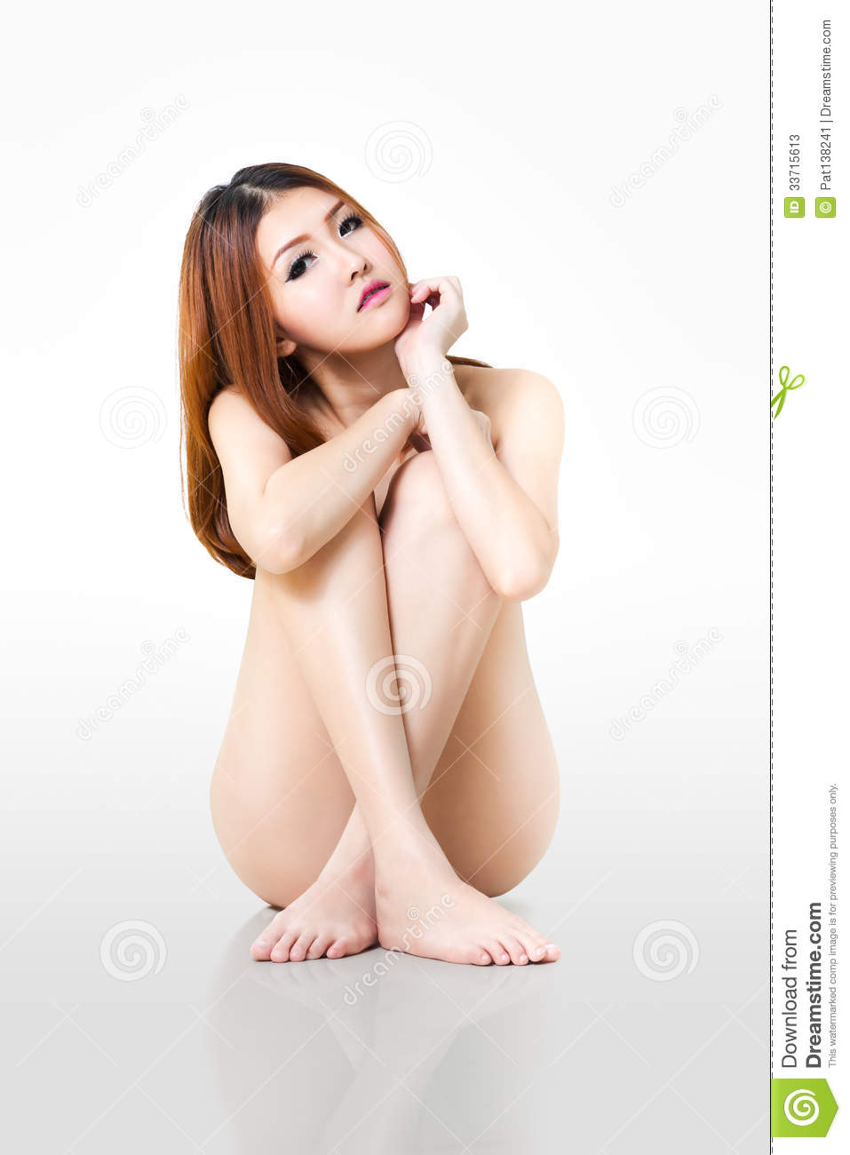 asian naked woman