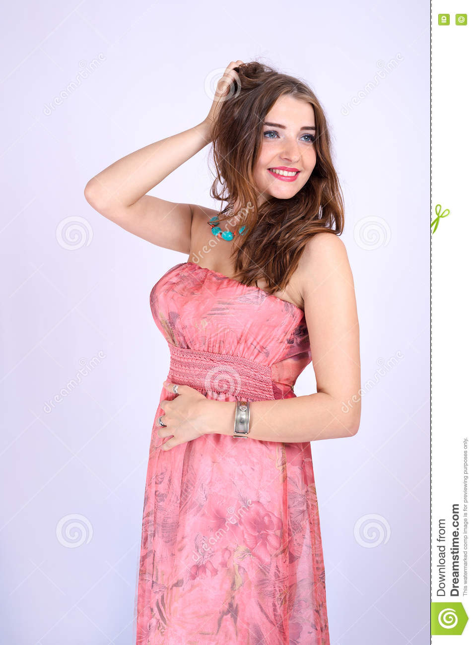 young women with big breast