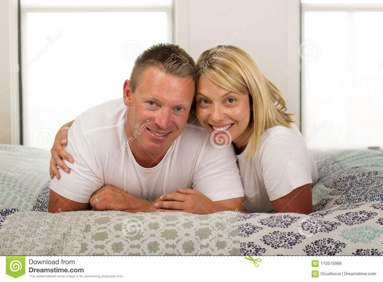 Young Beautiful And Radiant Romantic Couple 30 To 40 Years Old S