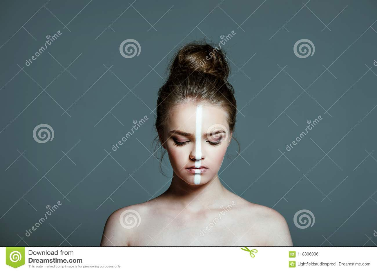 Skinny mature creampie