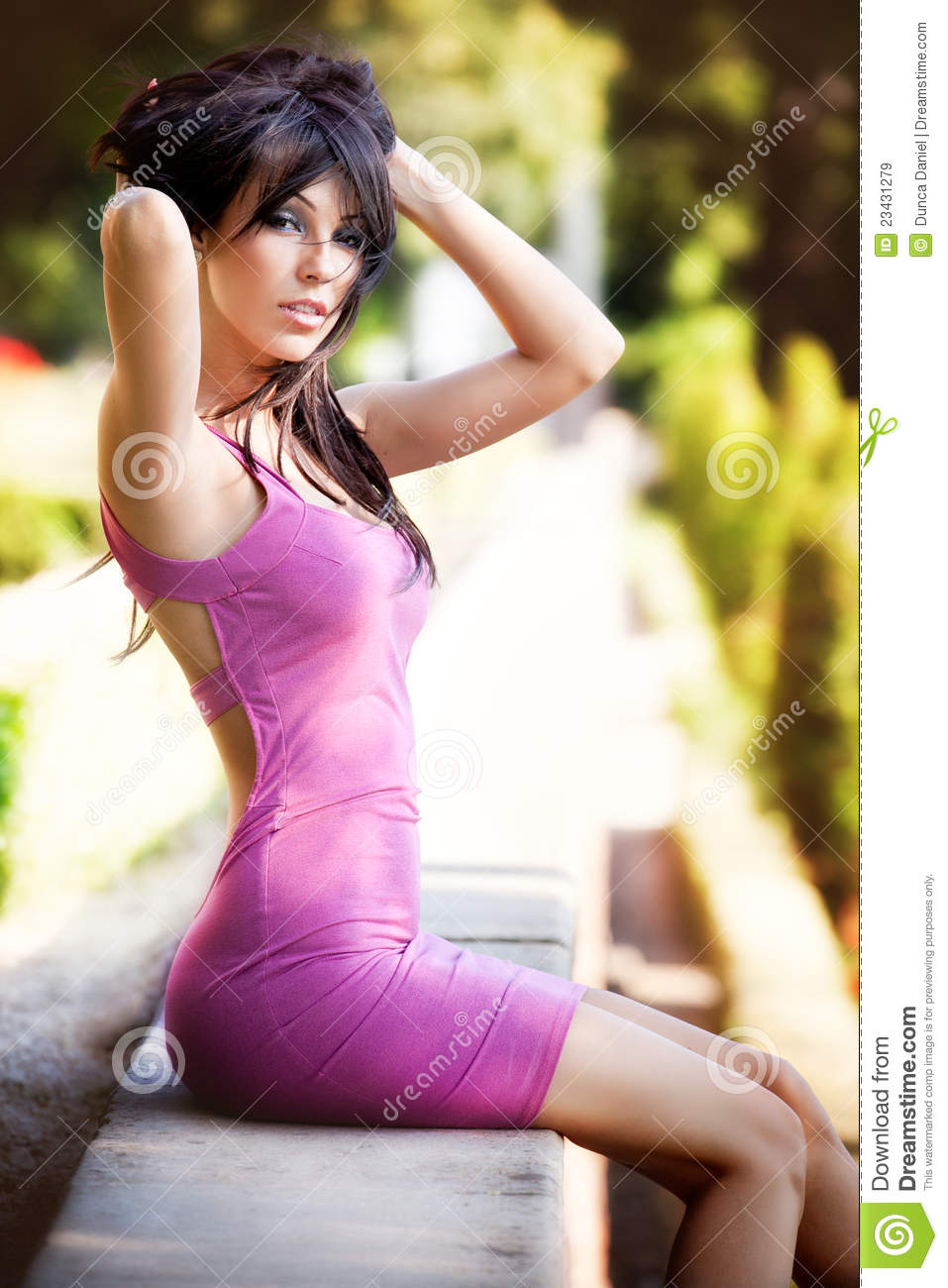 ... Woman With Sexy Body Royalty Free Stock Images - Image: 23431279