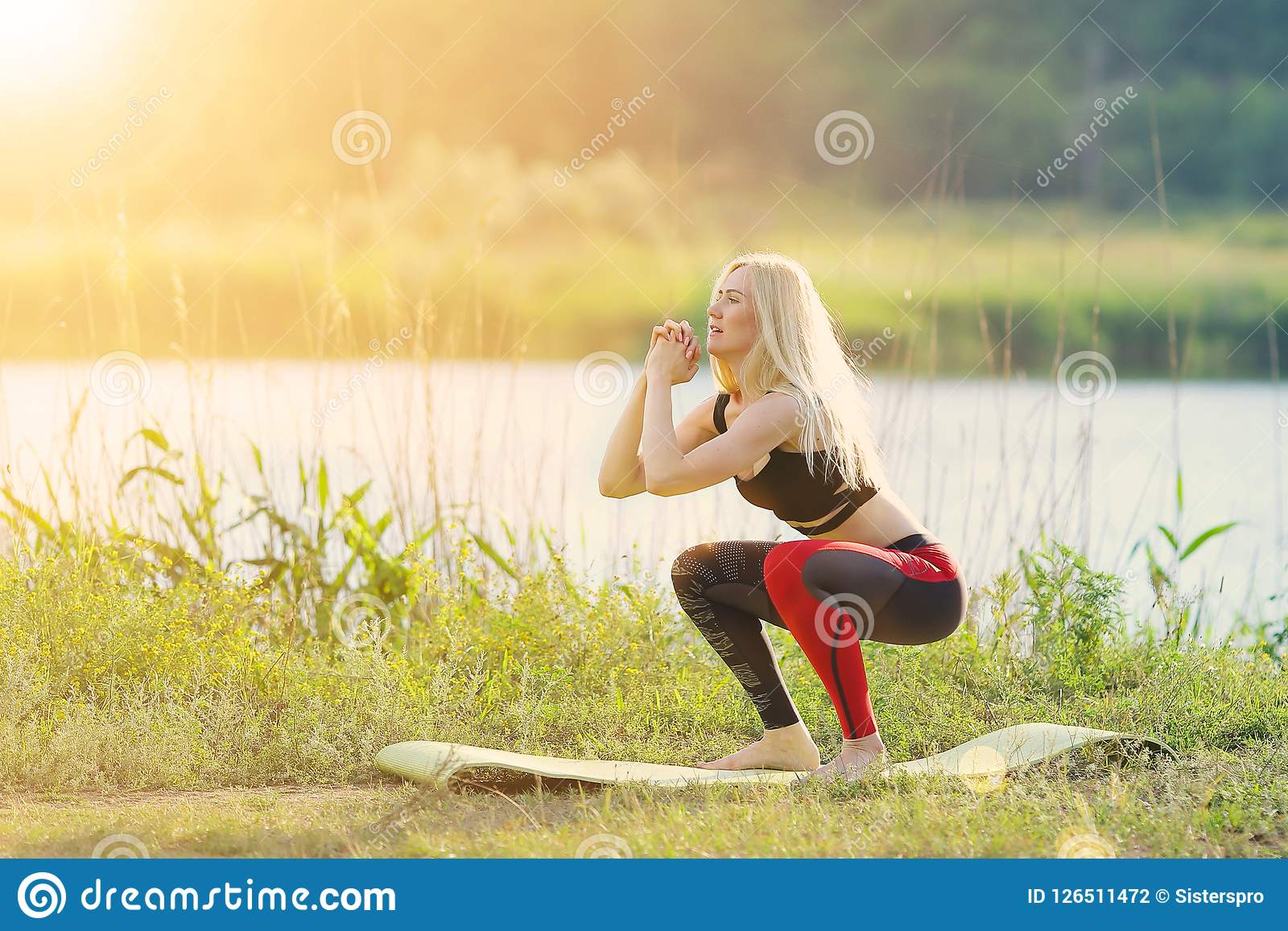 Portrait Of Female Athlete In Professional Training Outfit