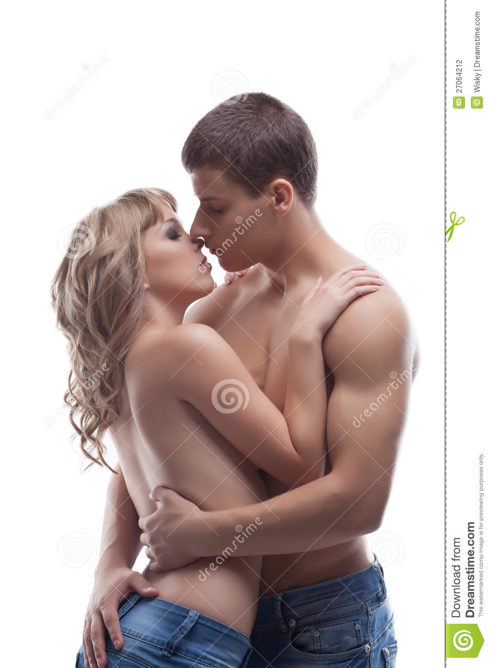 Sexy Girls Kissing Boys Naked