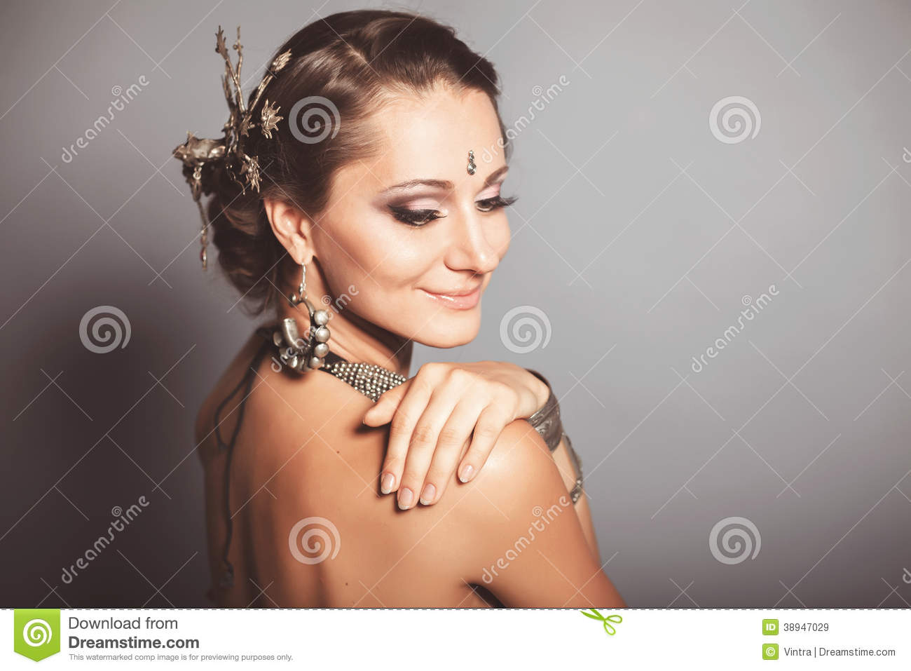 Download Young Beautyful Tribal Dancer Woman Stock Image - Image of dancer, grace: 38947029