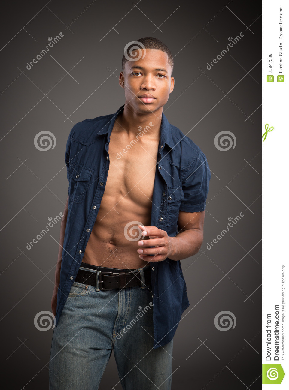 Young black fashion male model portrait stock photo image of american friendly 25847536