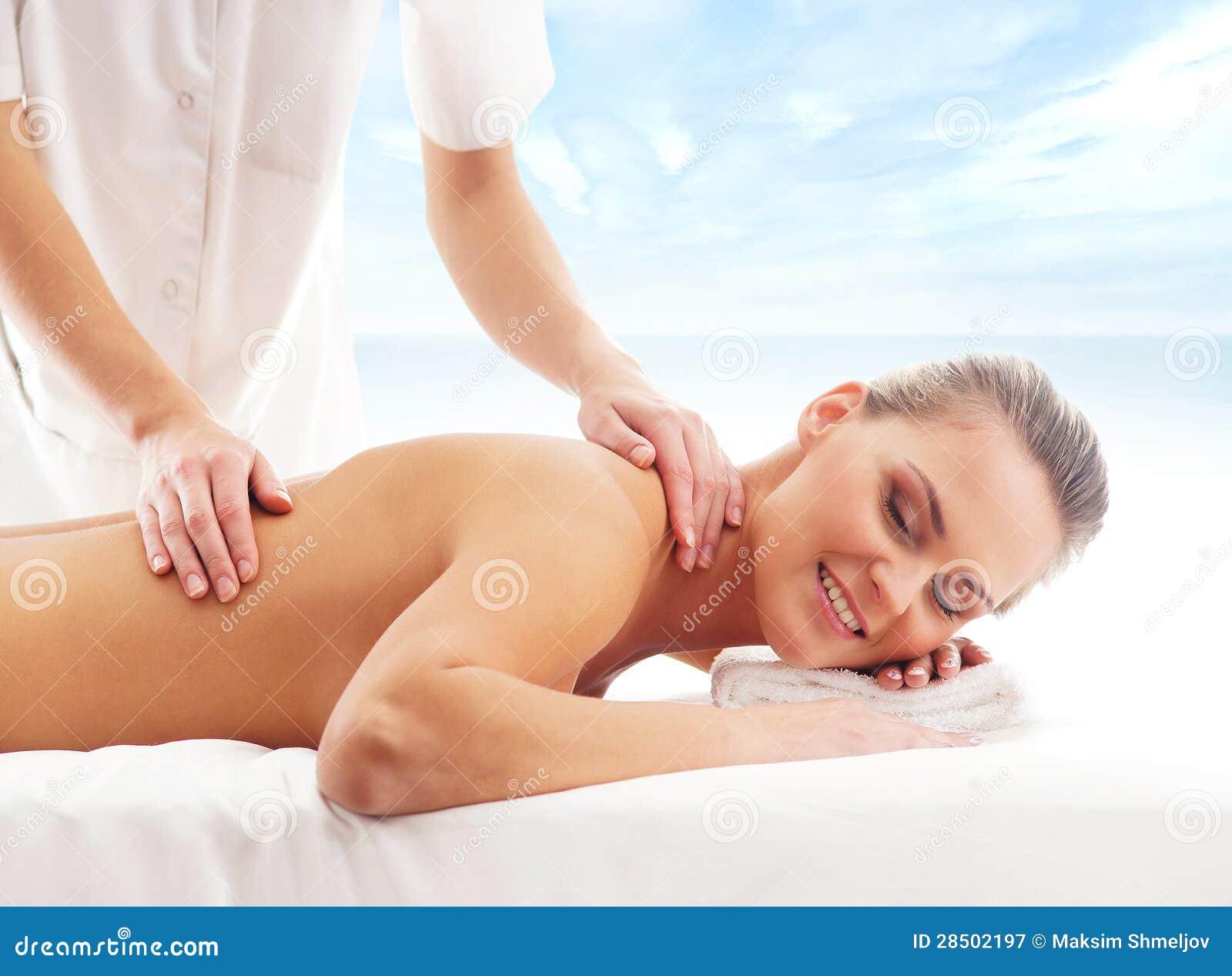professionell massage blond