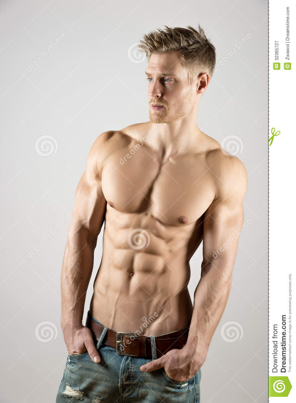 young body art athlete royalty free stock photography - image, Muscles