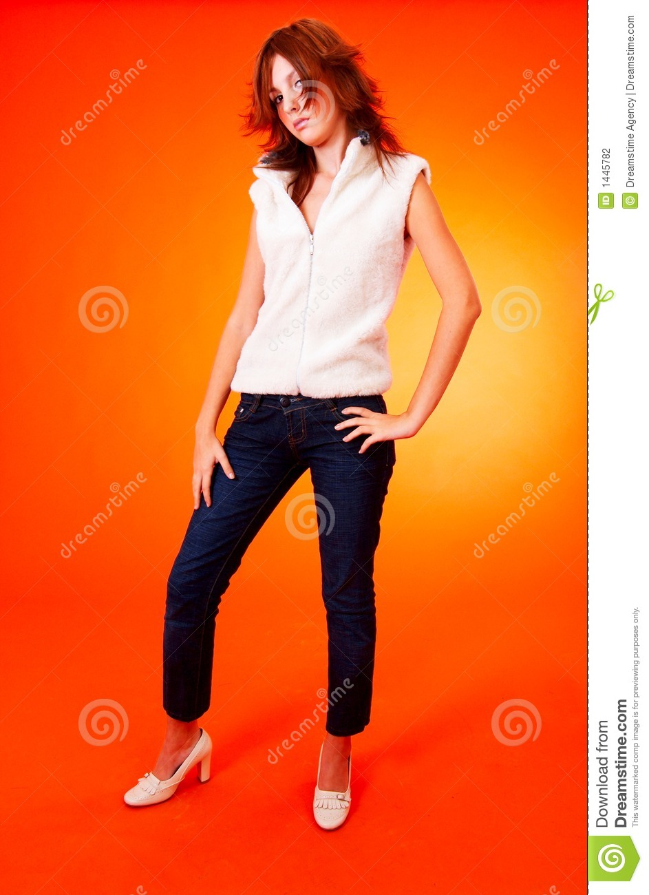 Young bold teen. stock photo. Image of faddish, clean ...