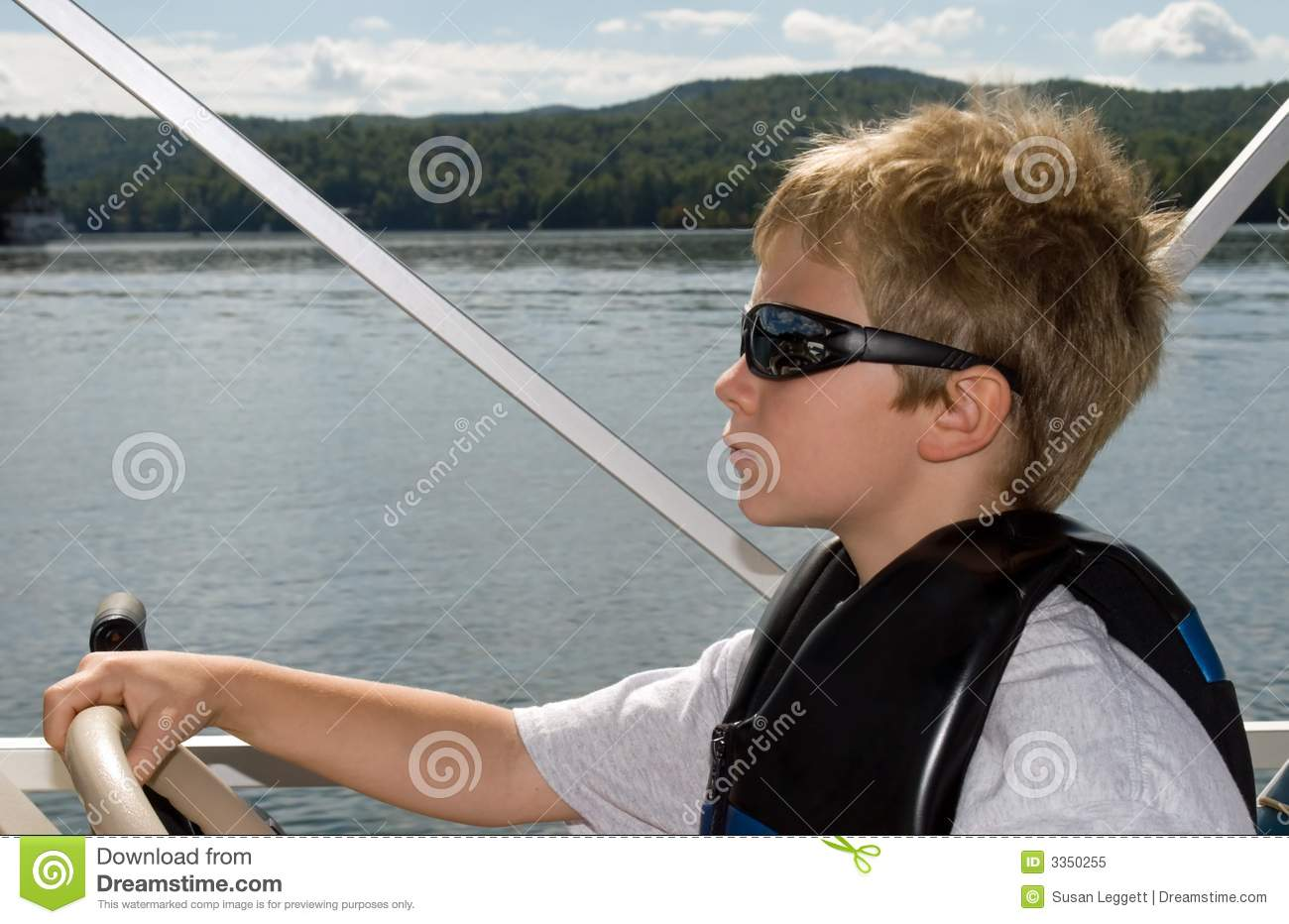 Young Boy and Boat
