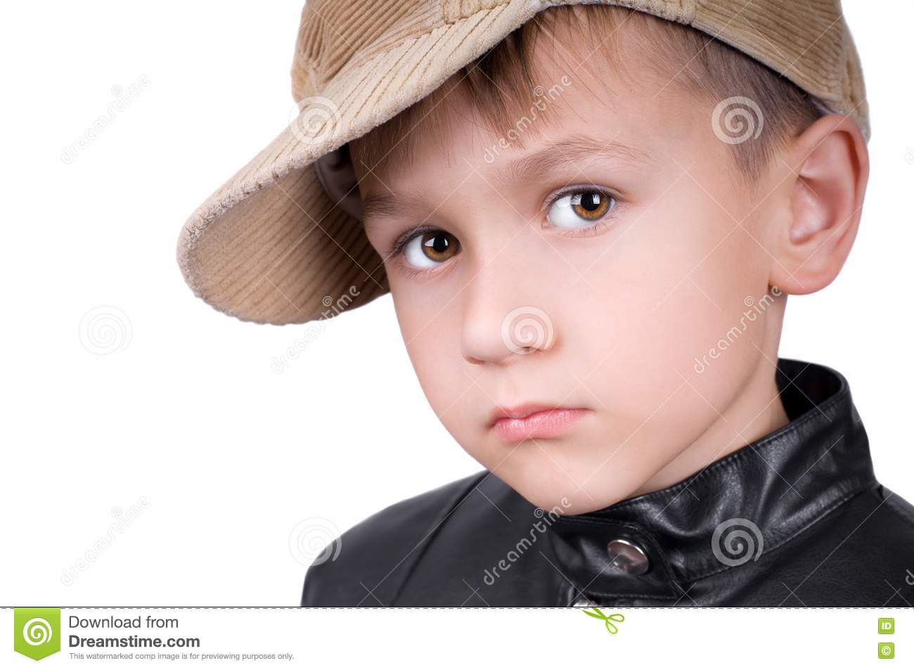 Young Boy In Hat Royalty Free Stock Image Image 16121466