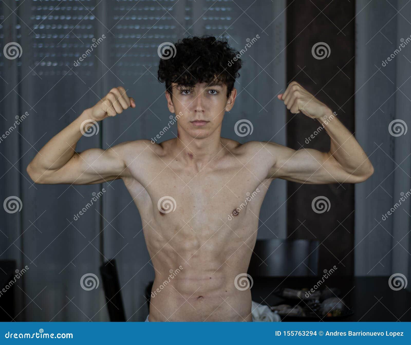 Young Boy Posing Stock Photo Image Of Natural Pose 155763294