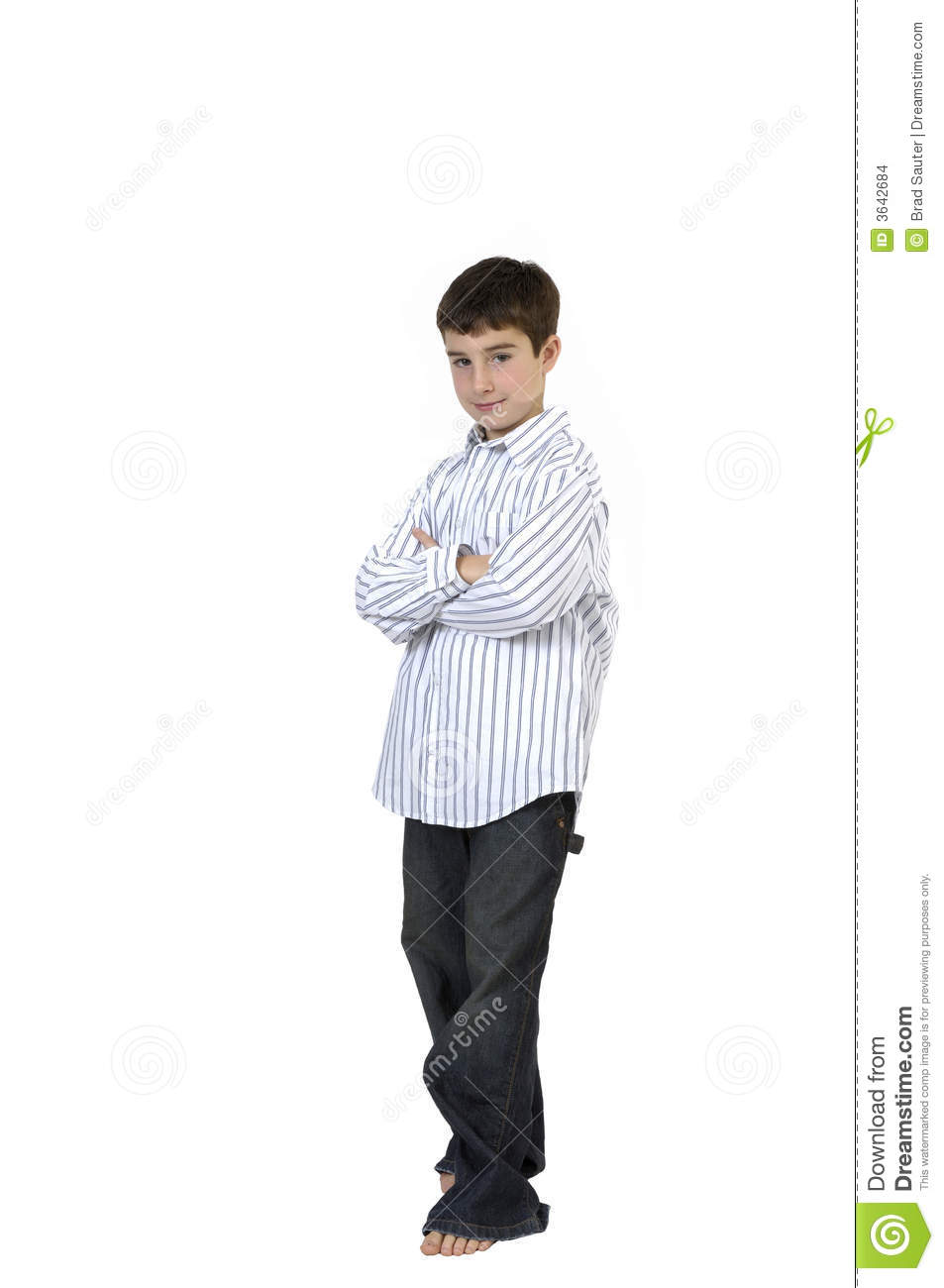 young boy standing stock images image 3642684