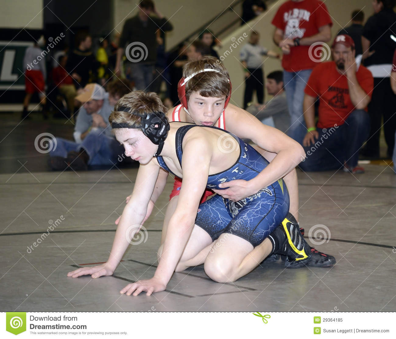 Young Boys Wrestling Editorial Image Image Of Teens
