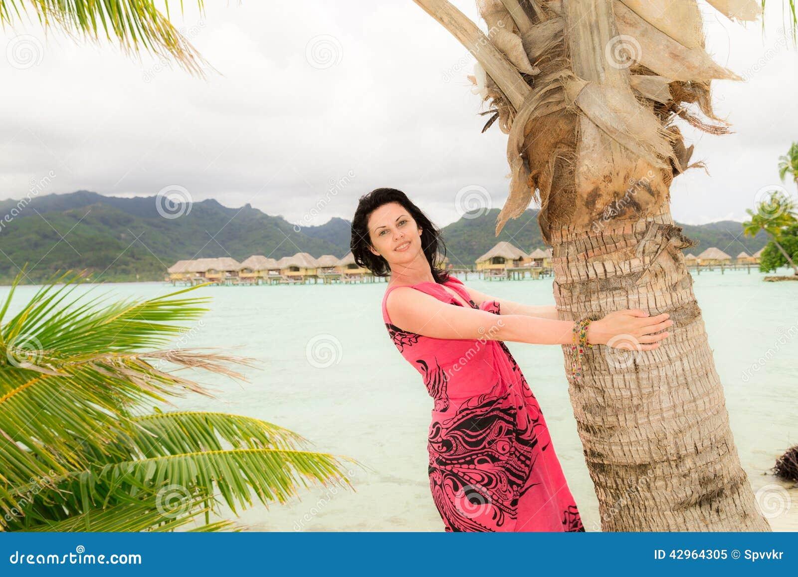 Exotic bbw island girl has fun with a big white cock - 1 1