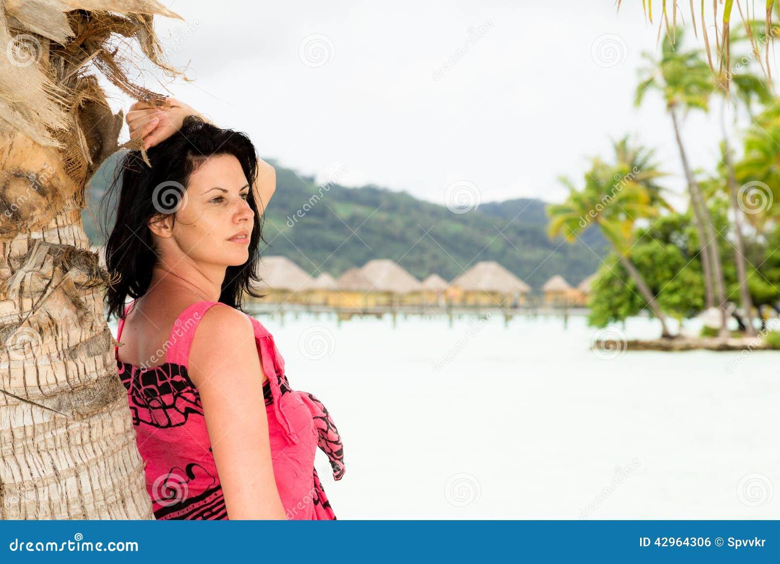 Exotic bbw island girl has fun with a big white cock - 1 10