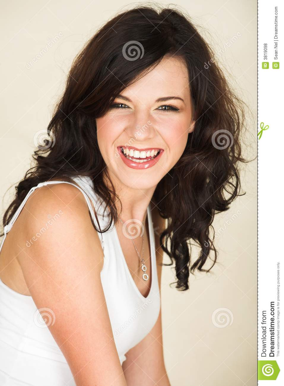 Young Brunette Woman Royalty Free Stock Photos Image