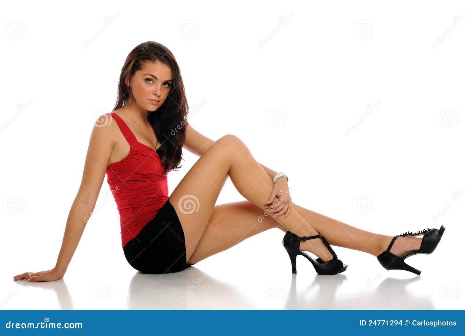 Model Beautiful Women Wearing Mini Skirts  Photo  Mini Skirt And  One