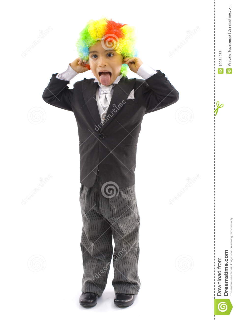 Download Young Business Clown stock image. Image of lifestyle - 10064965