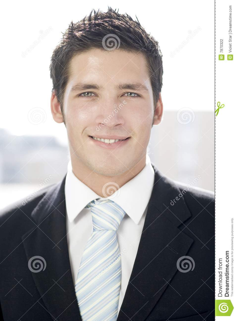 Young Business Man Stock Photography - Image: 7870322
