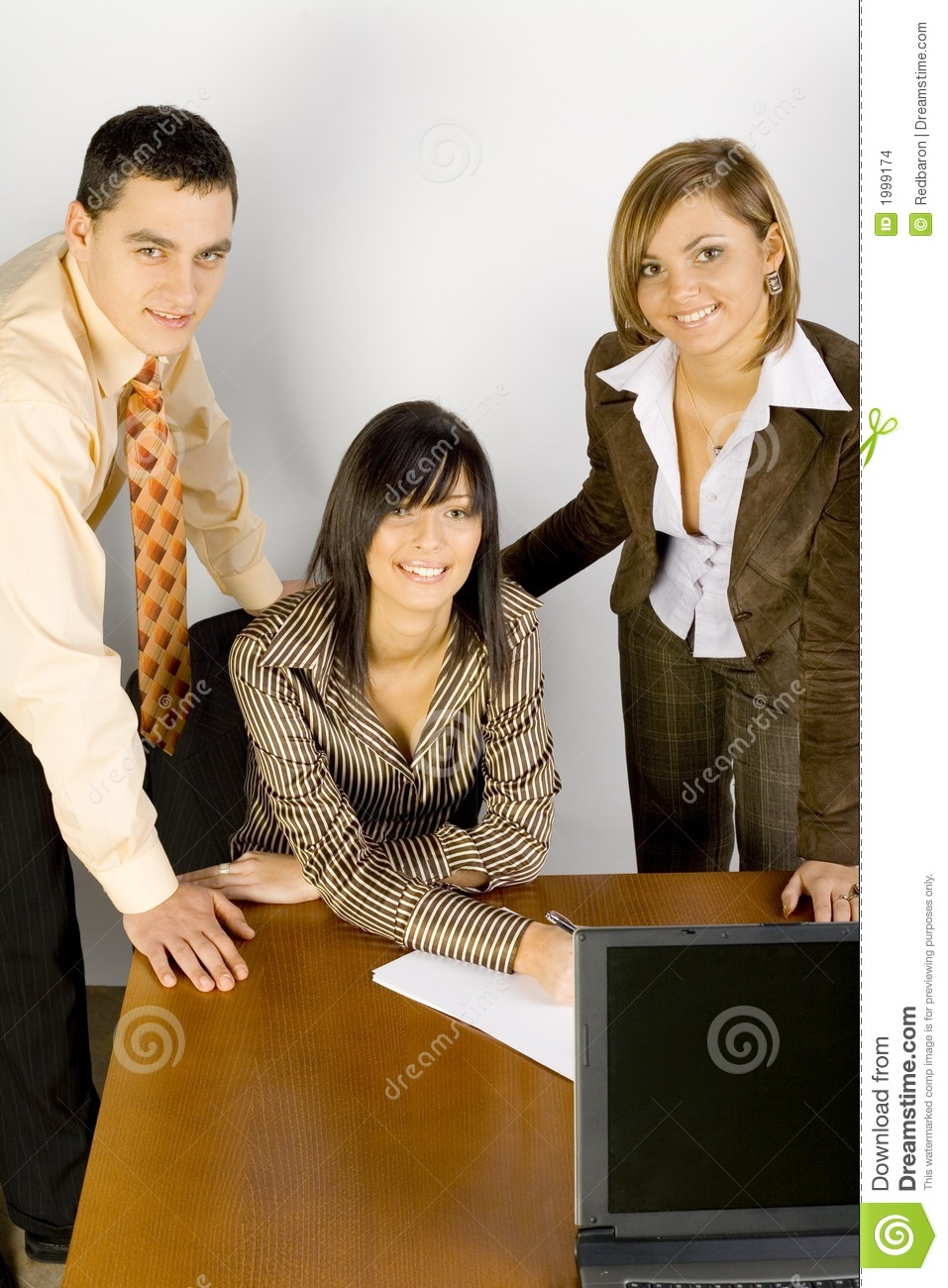 Young Business People at the office