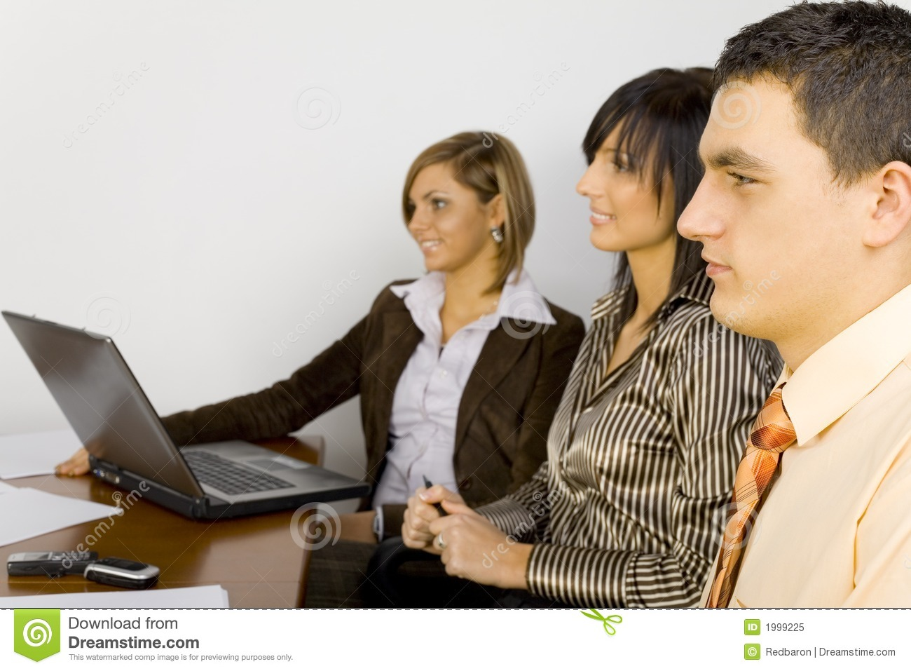 Young Business People at work