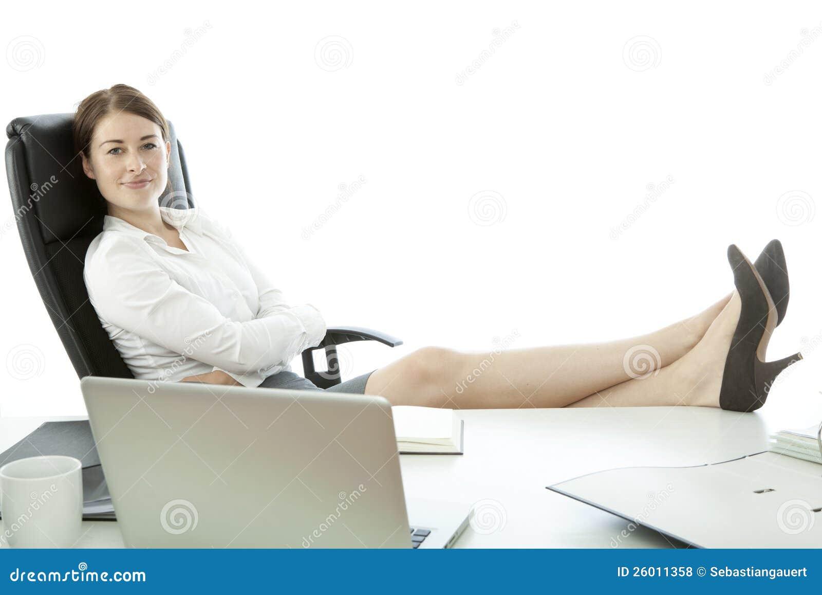 Clipart Girl At Desk